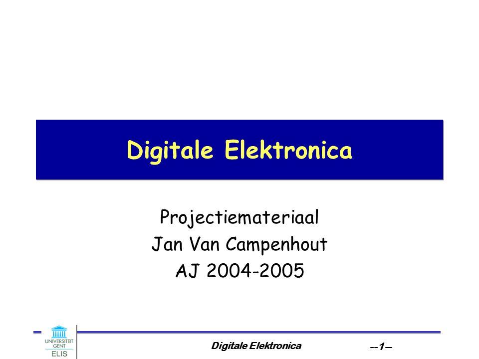 Projectiemateriaal Jan Van Campenhout AJ 2004-2005