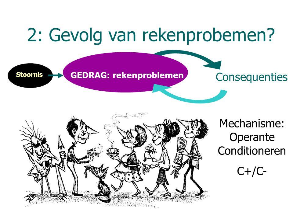 GEDRAG: rekenproblemen