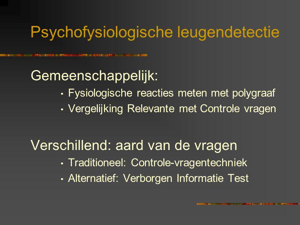 Psychofysiologische leugendetectie