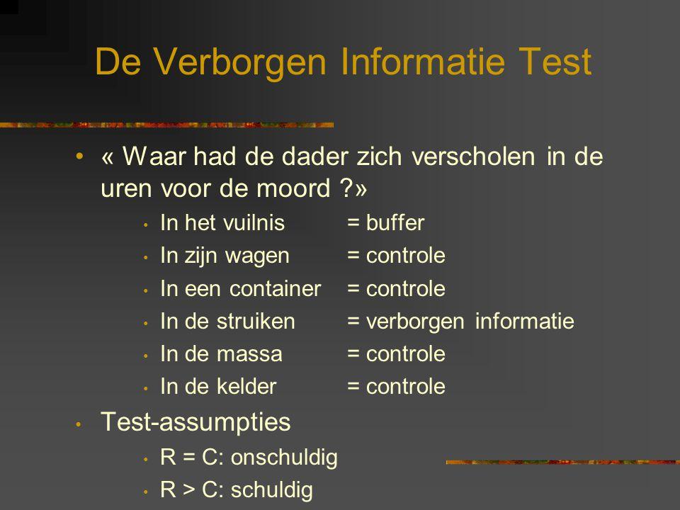 De Verborgen Informatie Test