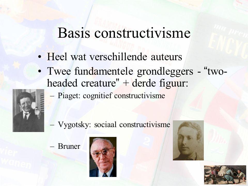 Basis constructivisme