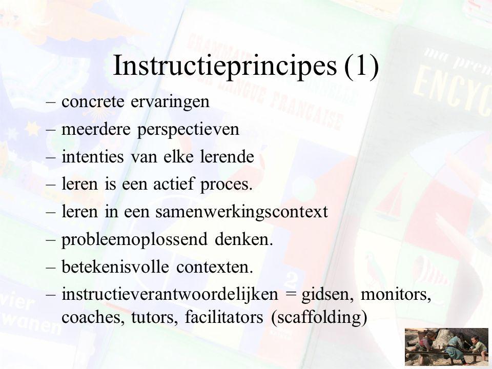 Instructieprincipes (1)