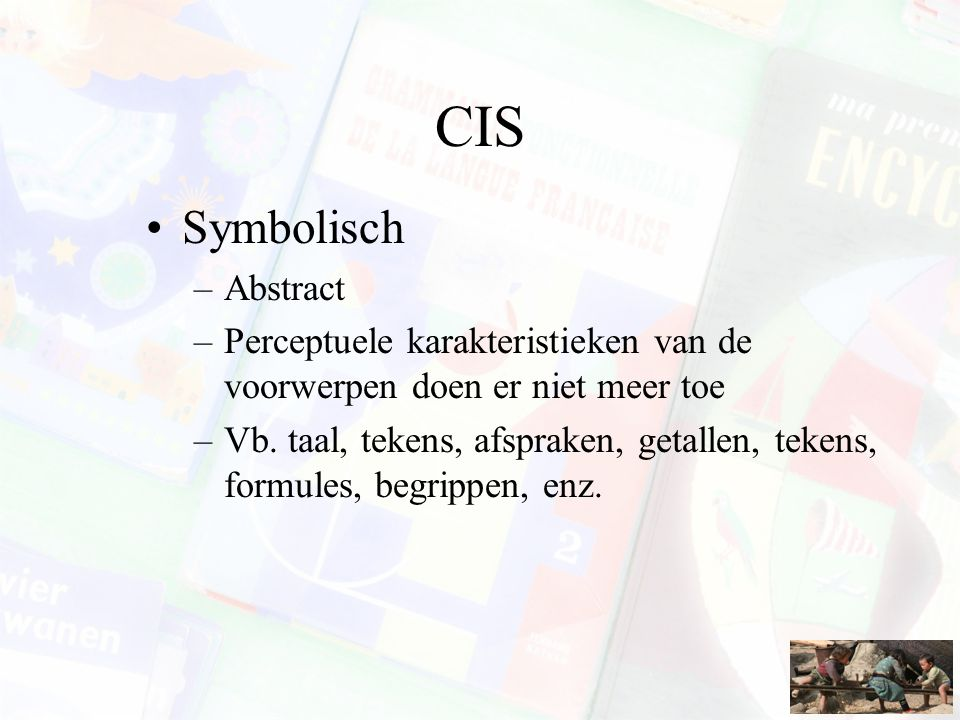 CIS Symbolisch Abstract