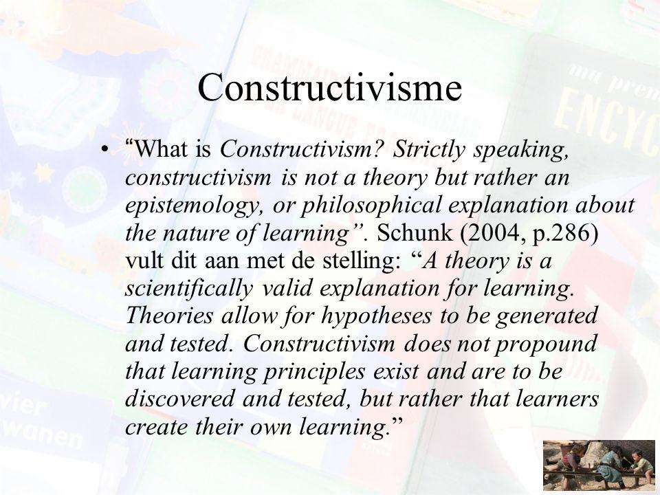 Constructivisme