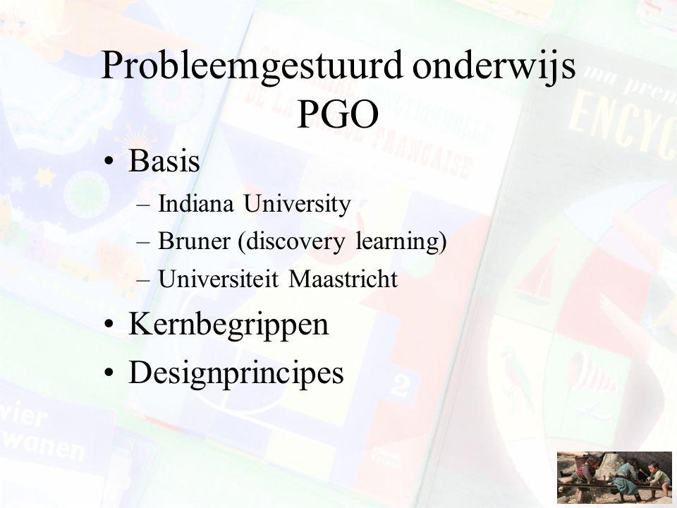 Probleemgestuurd onderwijs PGO