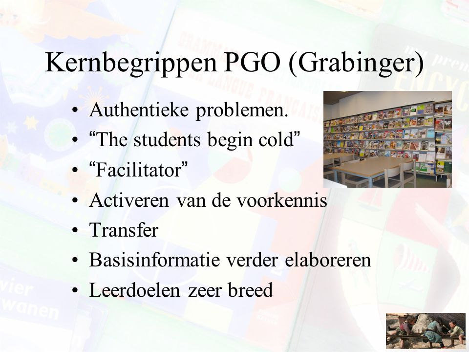 Kernbegrippen PGO (Grabinger)