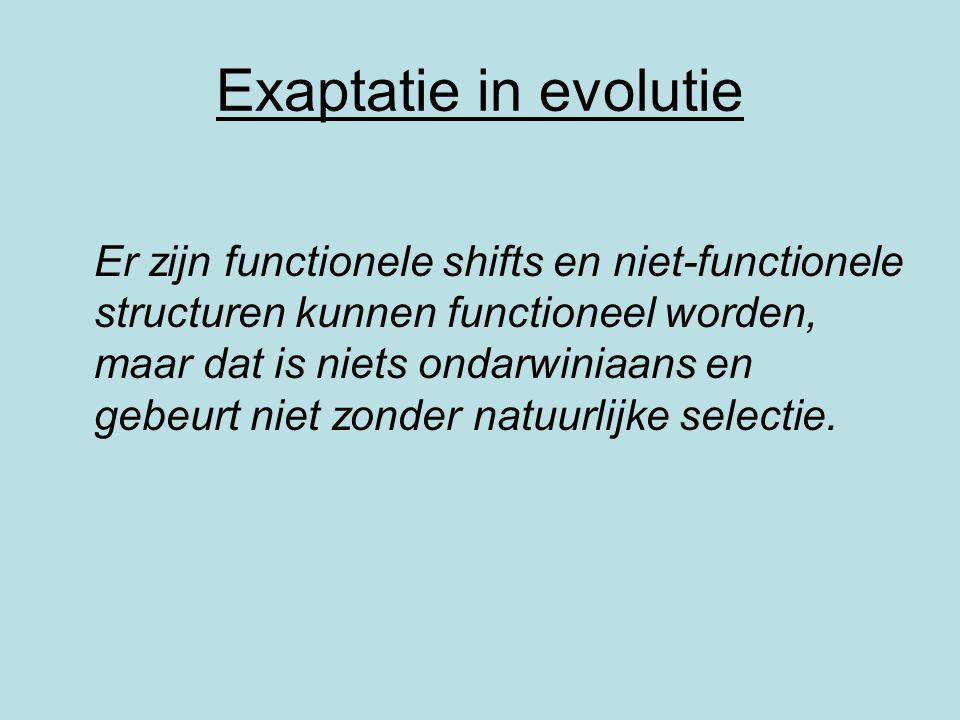 Exaptatie in evolutie