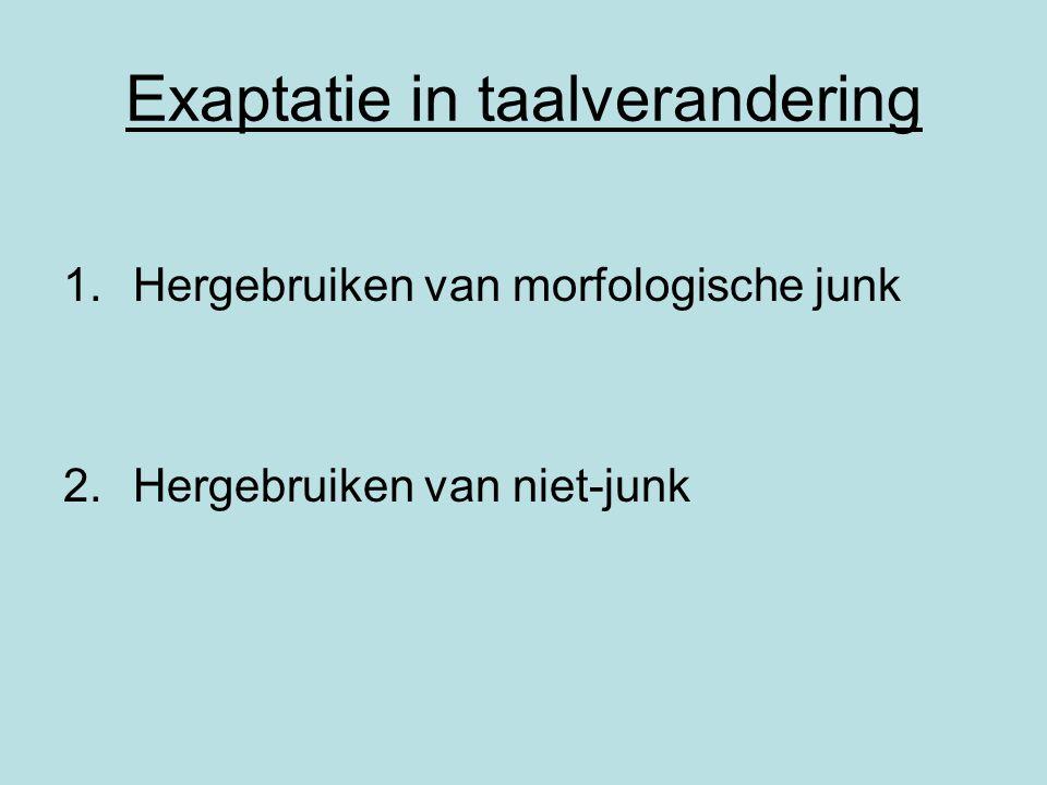 Exaptatie in taalverandering