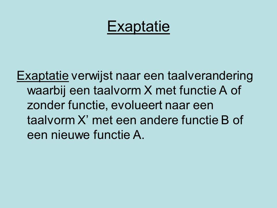 Exaptatie