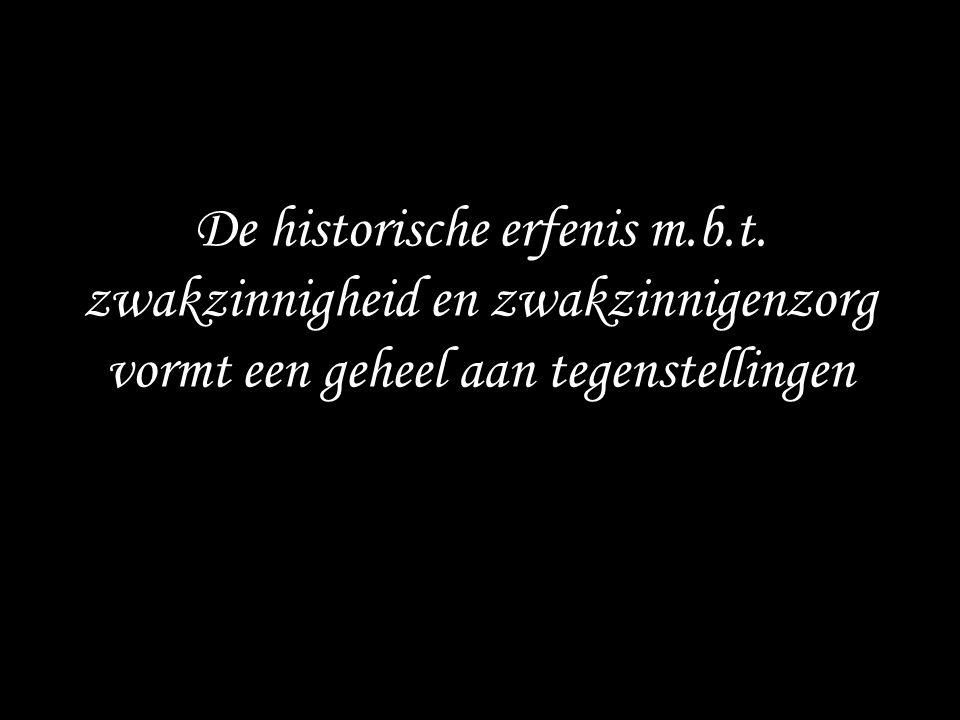 De historische erfenis m. b. t