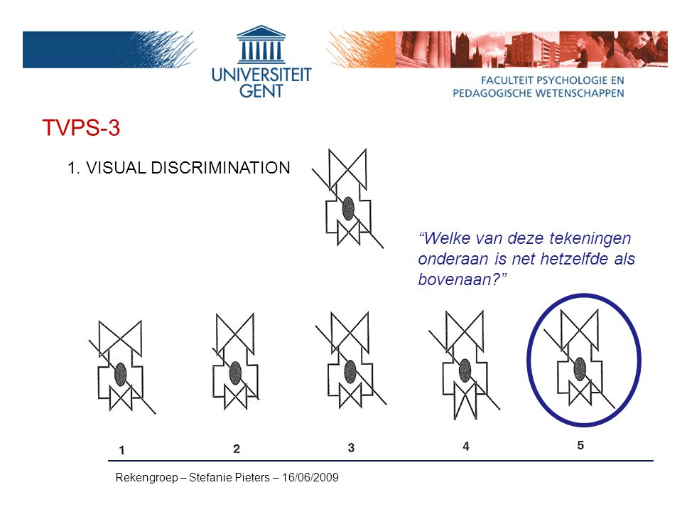 TVPS-3 1. VISUAL DISCRIMINATION