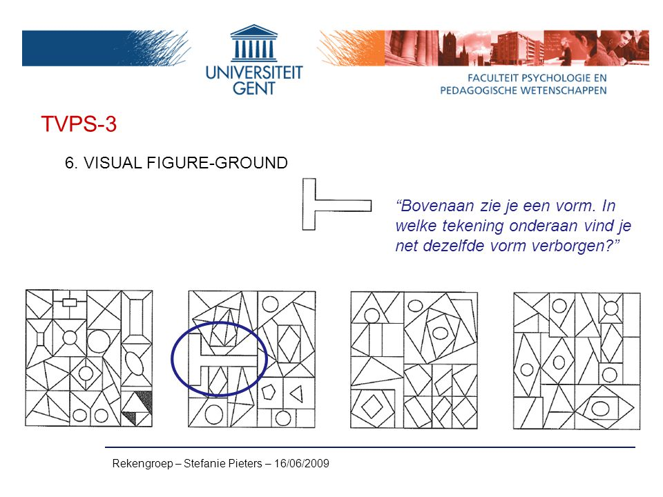 TVPS-3 6. VISUAL FIGURE-GROUND