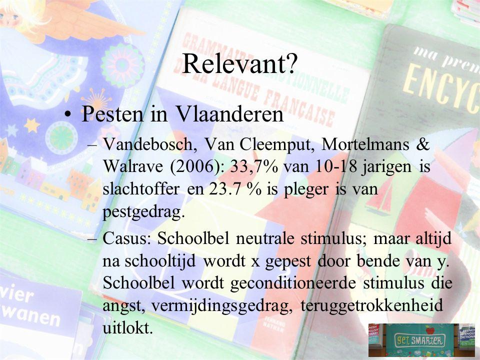 Relevant Pesten in Vlaanderen