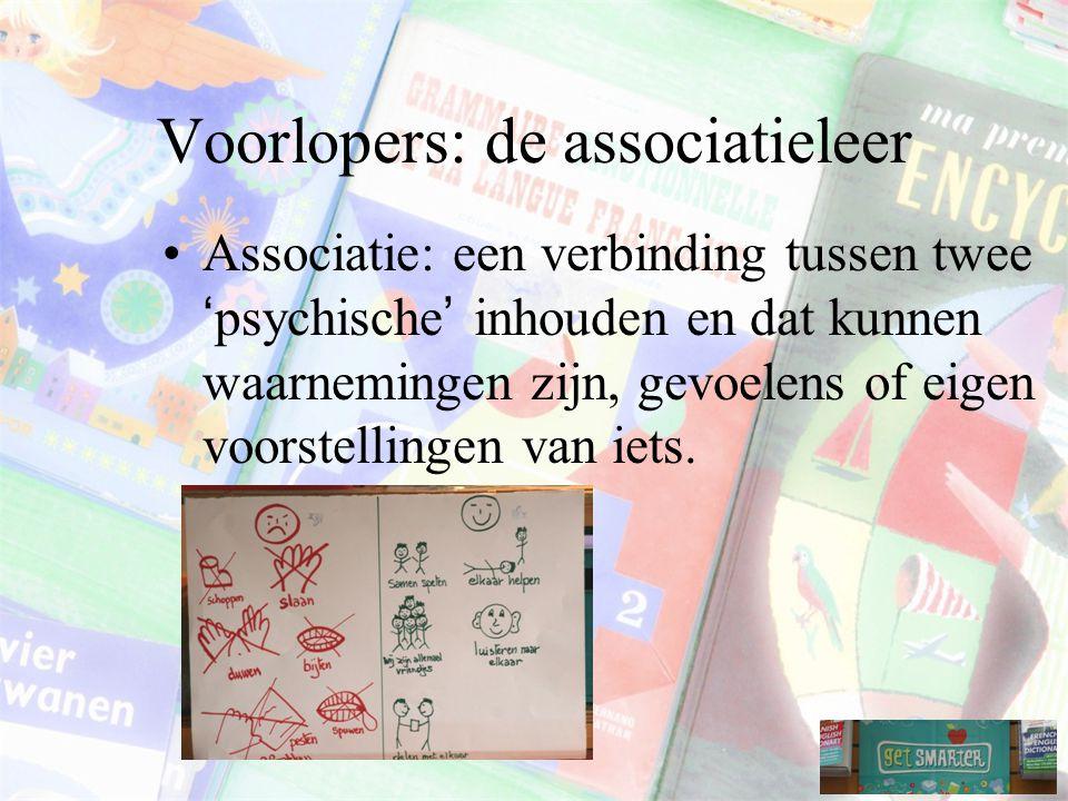 Voorlopers: de associatieleer