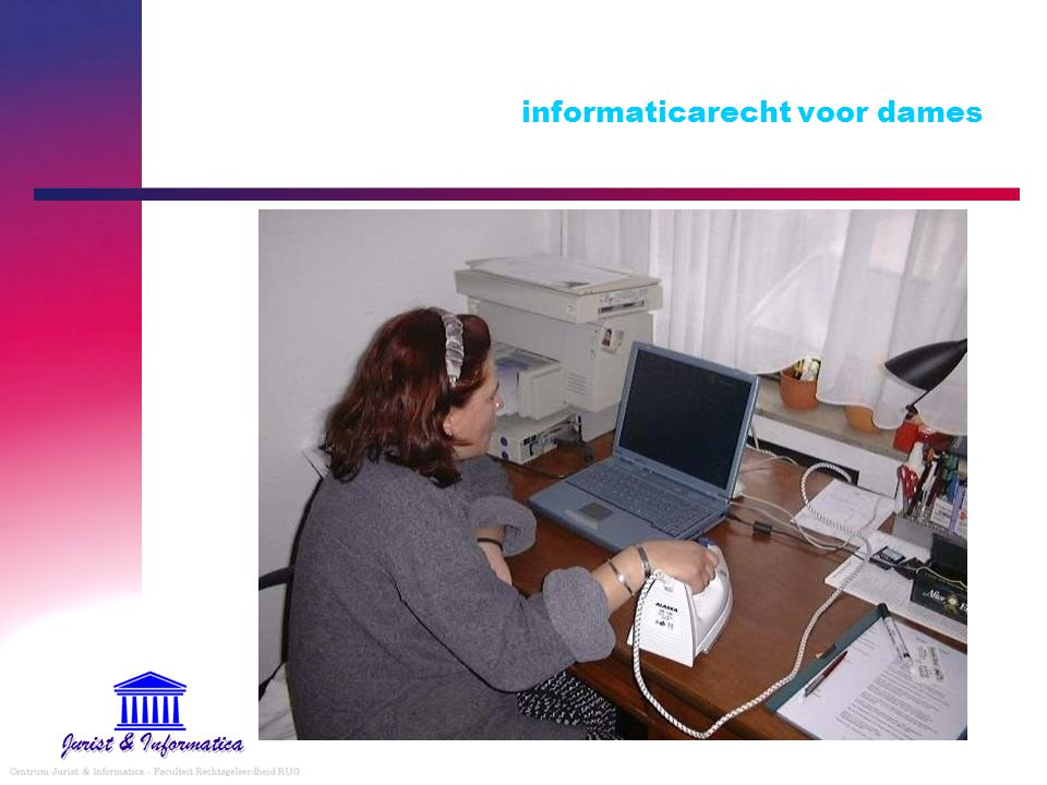 informaticarecht voor dames