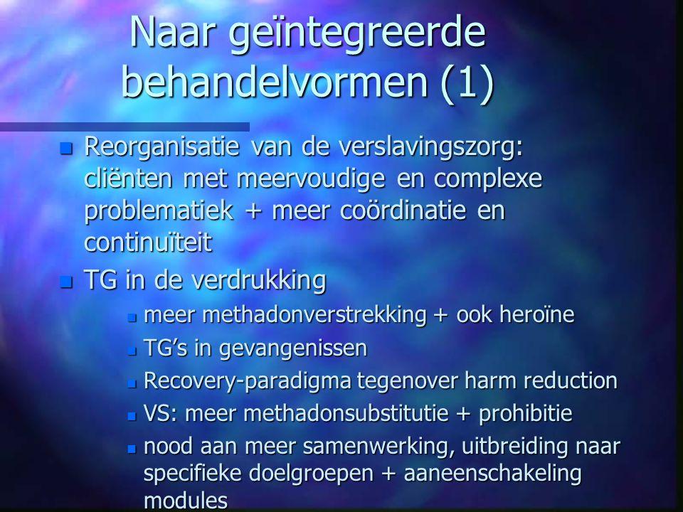 Naar geïntegreerde behandelvormen (1)