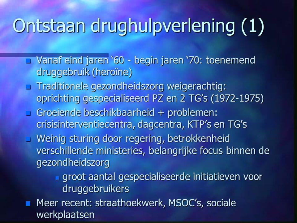 Ontstaan drughulpverlening (1)