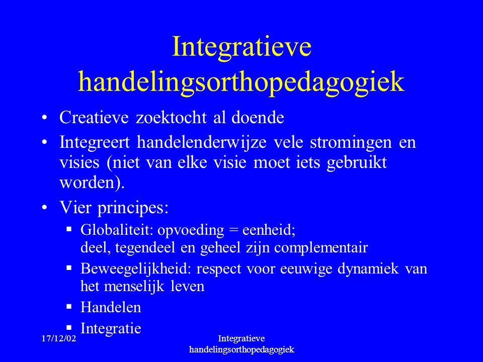 Integratieve handelingsorthopedagogiek