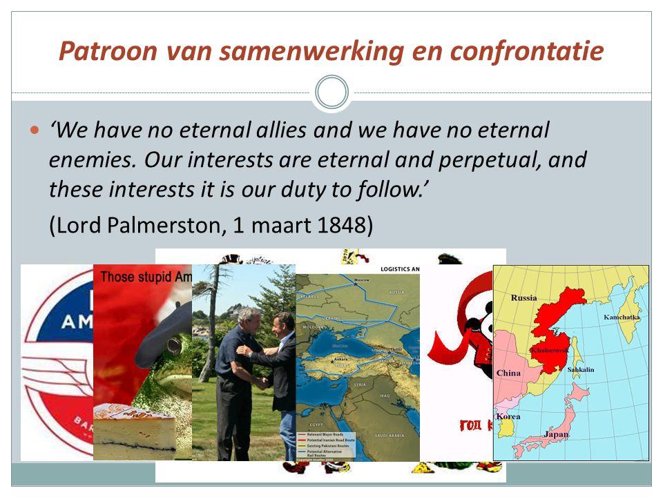 Patroon van samenwerking en confrontatie