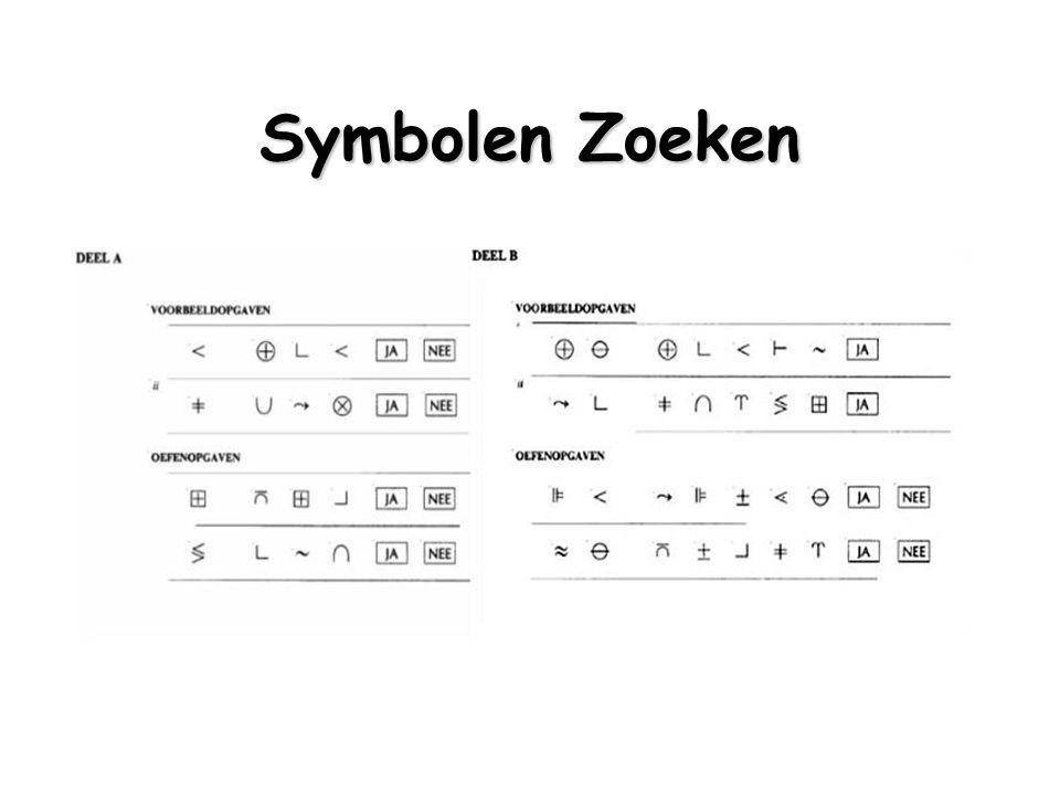 Symbolen Zoeken