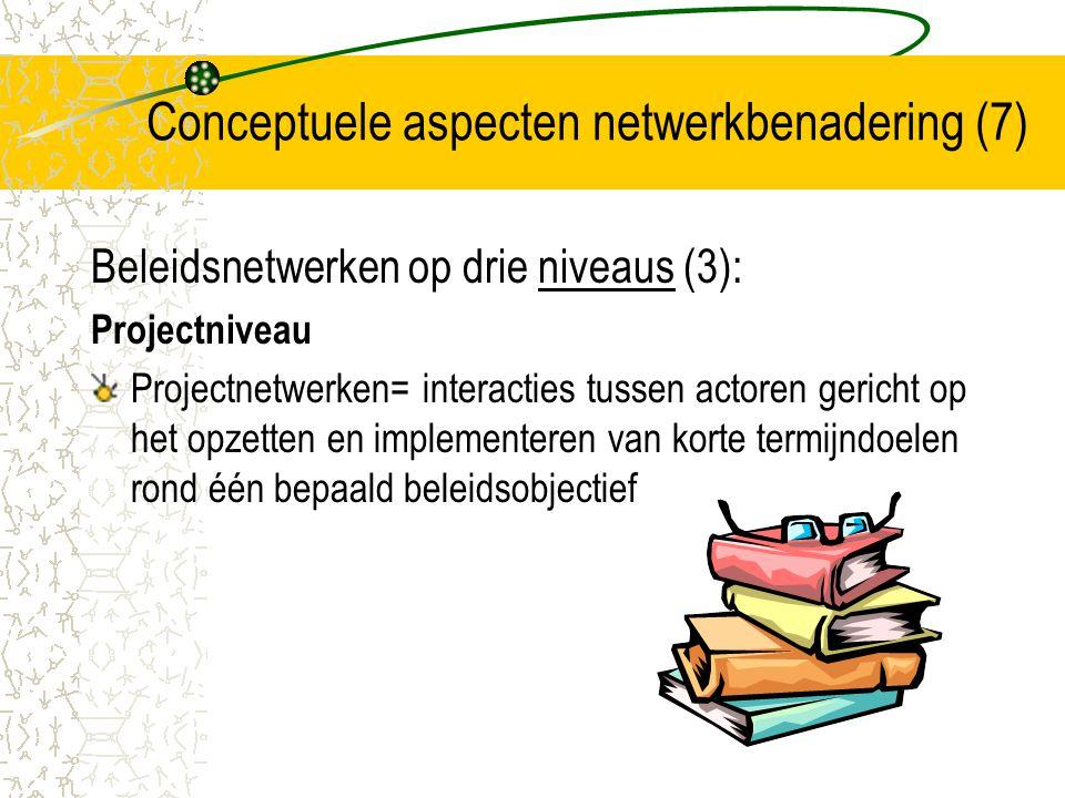 Conceptuele aspecten netwerkbenadering (7)