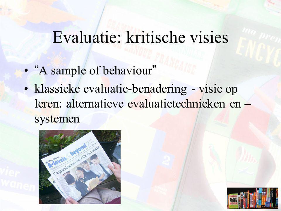 Evaluatie: kritische visies