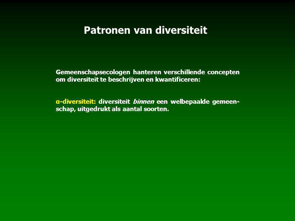 Patronen van diversiteit