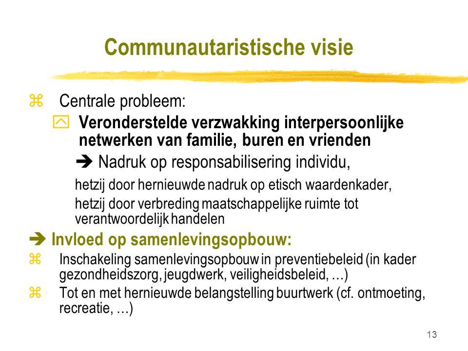 Communautaristische visie