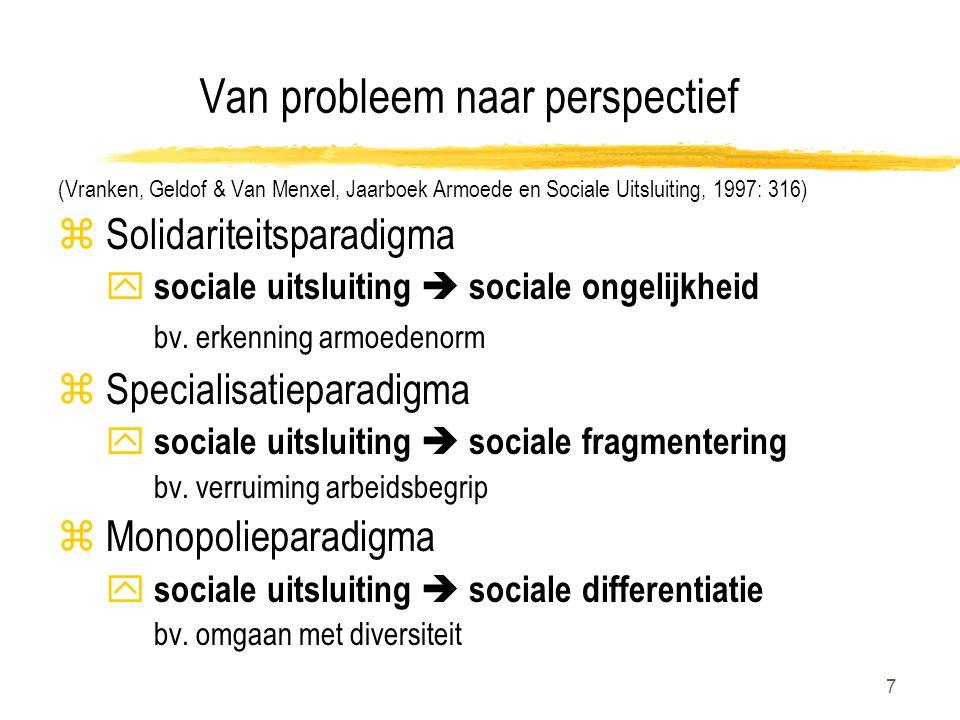 Van probleem naar perspectief