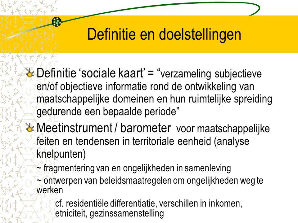 Definitie en doelstellingen