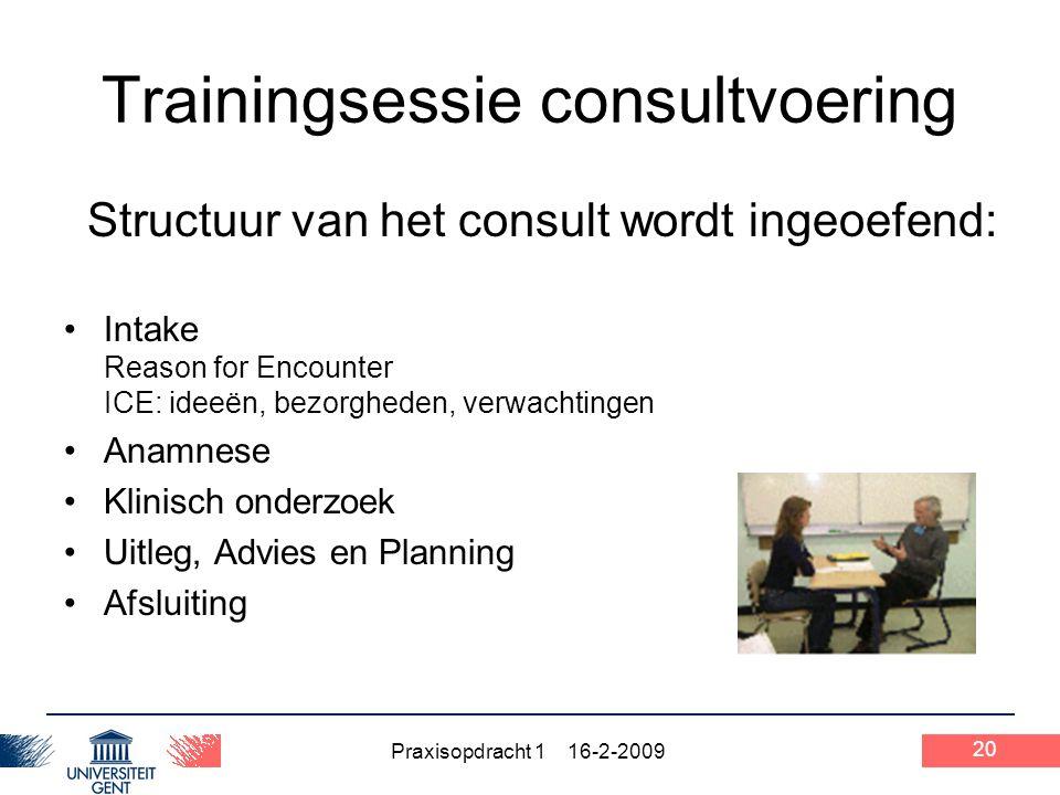 Trainingsessie consultvoering
