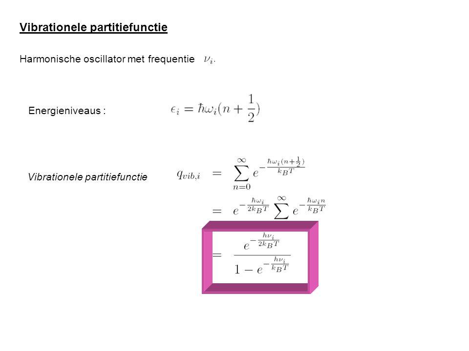 Vibrationele partitiefunctie