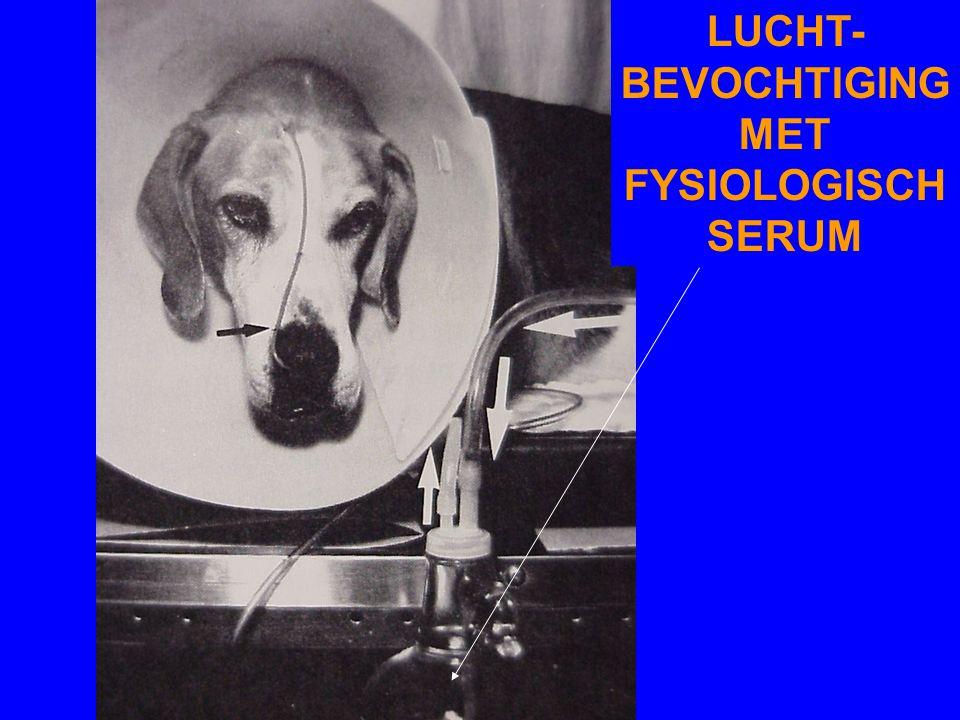 LUCHT-BEVOCHTIGING MET FYSIOLOGISCH SERUM