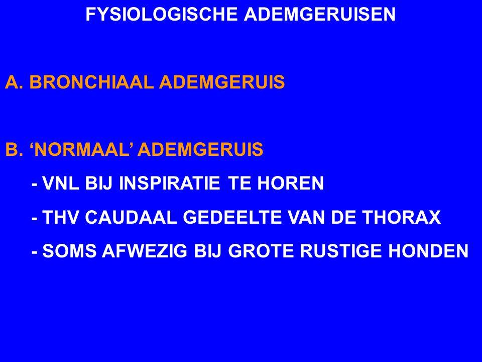 FYSIOLOGISCHE ADEMGERUISEN