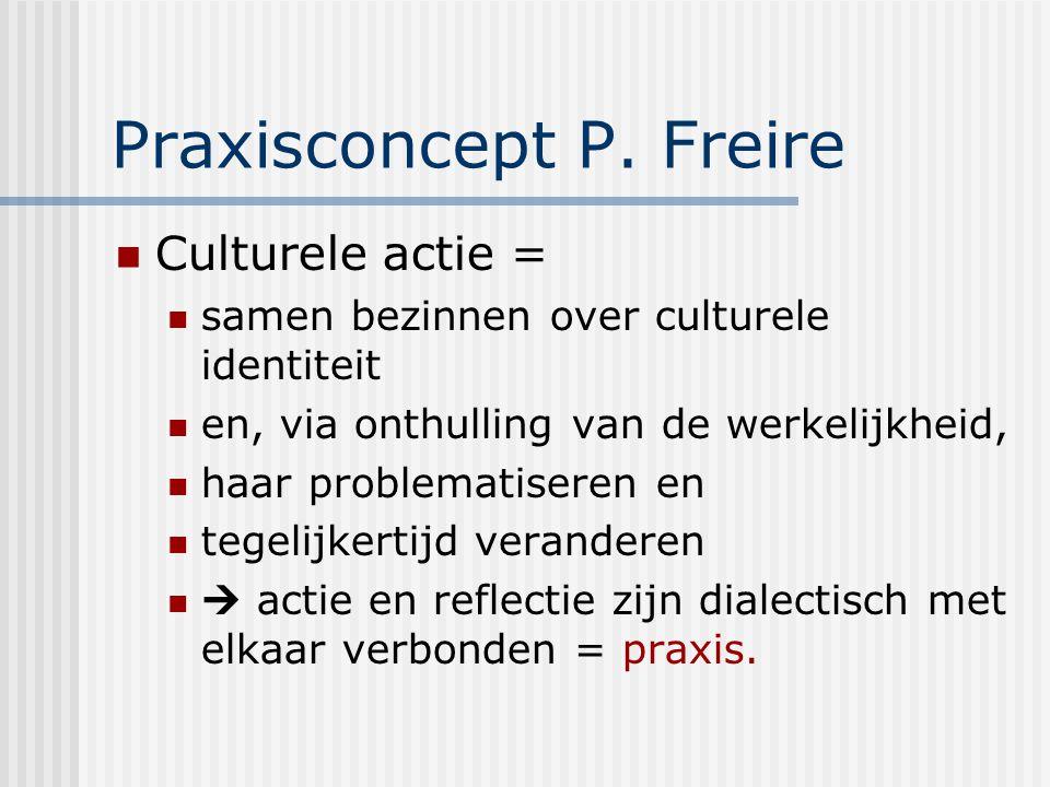 Praxisconcept P. Freire