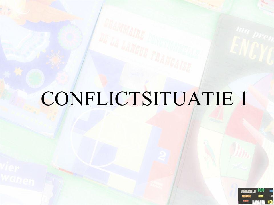 CONFLICTSITUATIE 1
