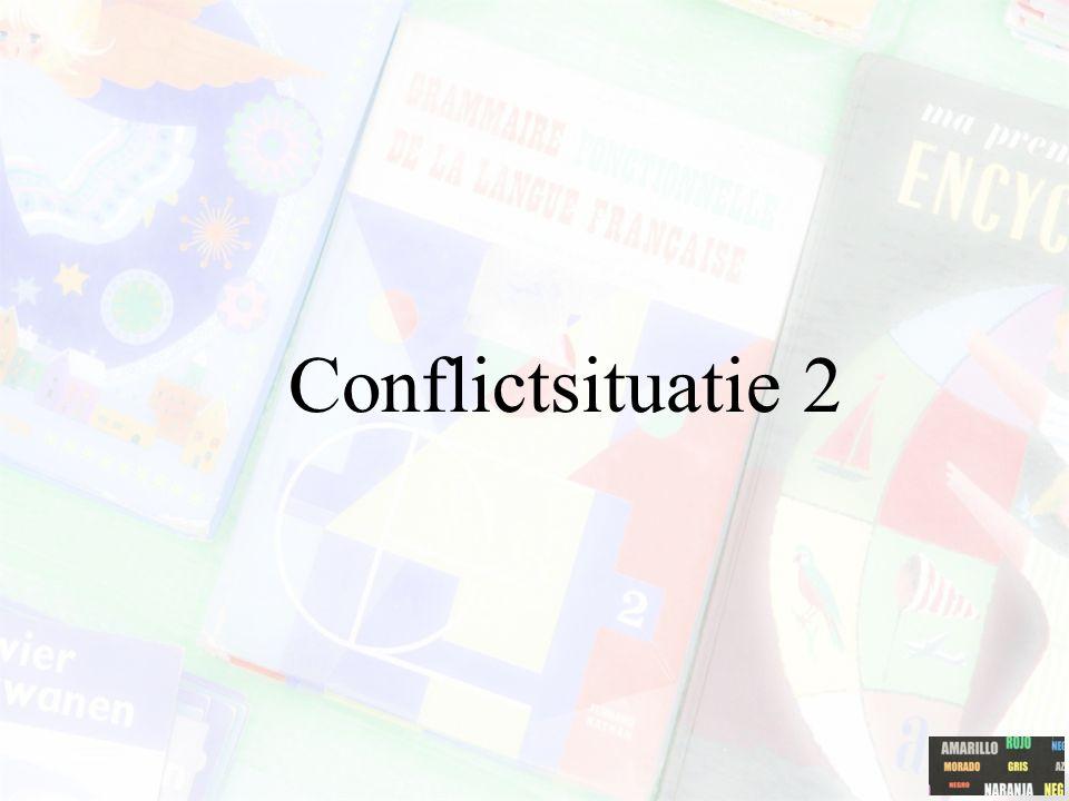 Conflictsituatie 2