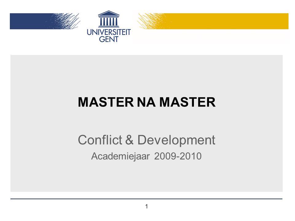 Conflict & Development