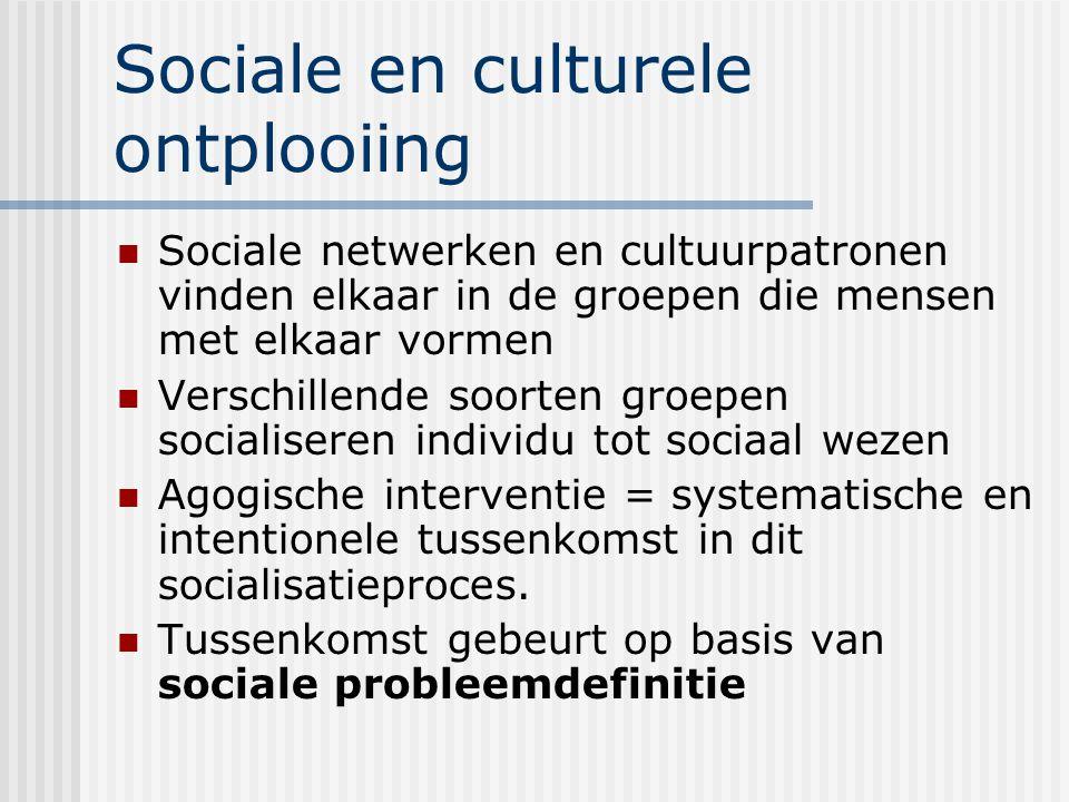Sociale en culturele ontplooiing