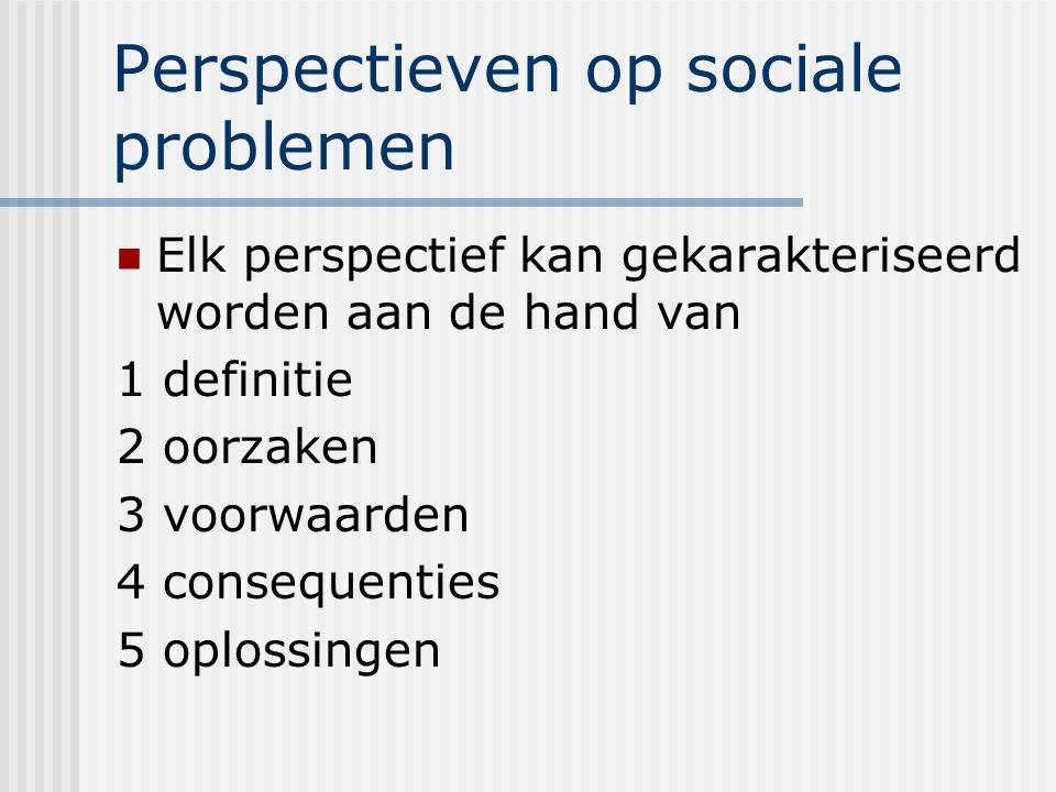 Perspectieven op sociale problemen