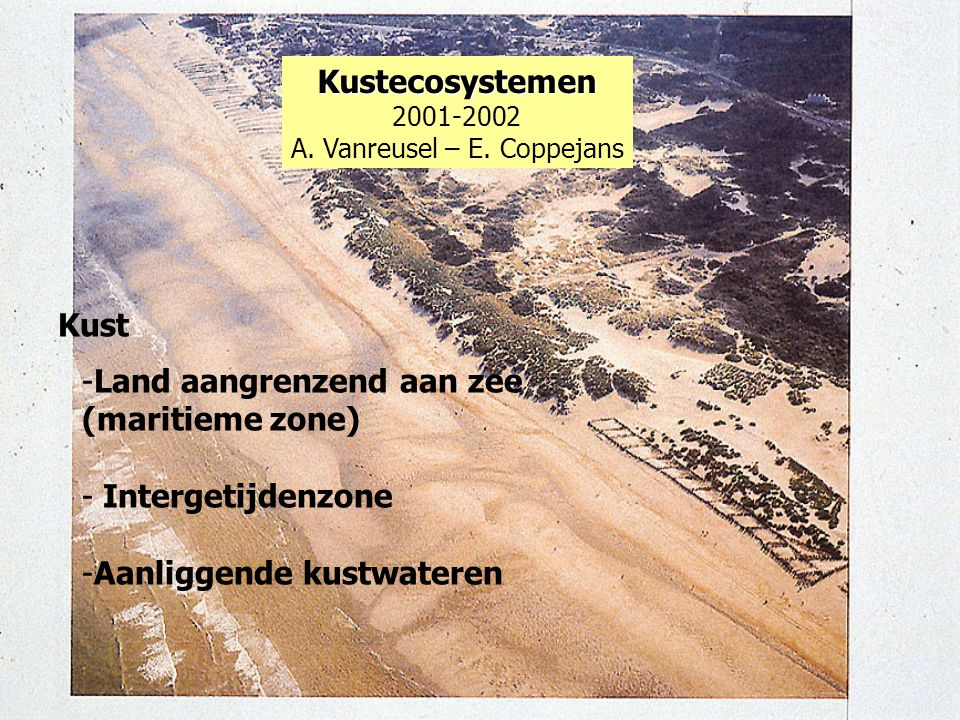 A. Vanreusel – E. Coppejans