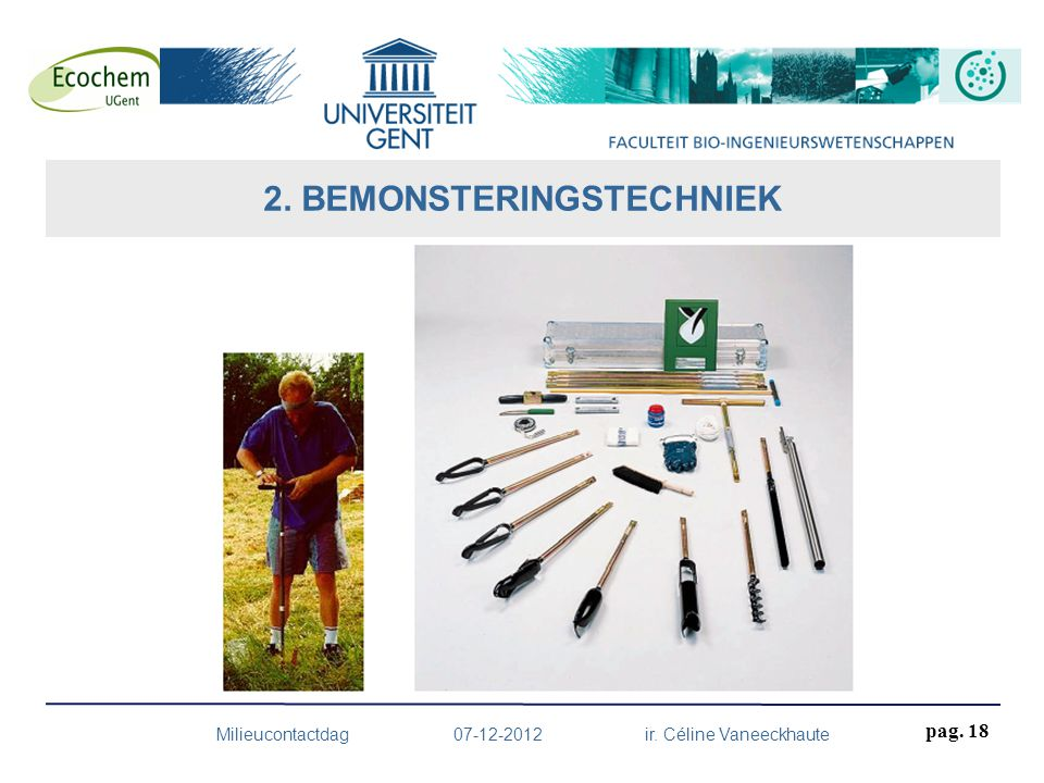 2. BEMONSTERINGSTECHNIEK