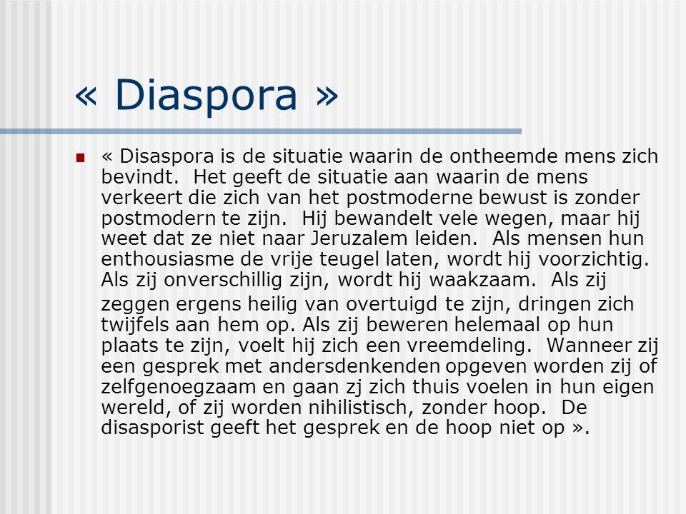 « Diaspora »