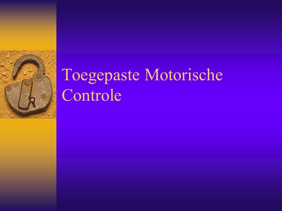 Toegepaste Motorische Controle