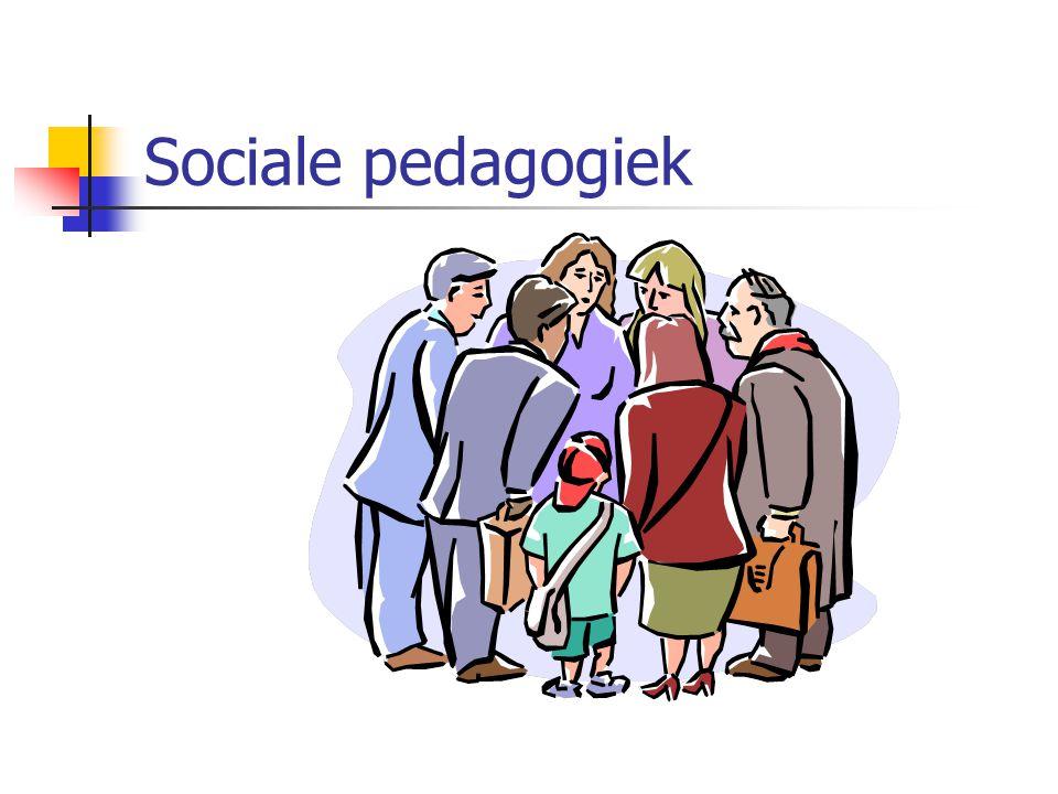 Sociale pedagogiek