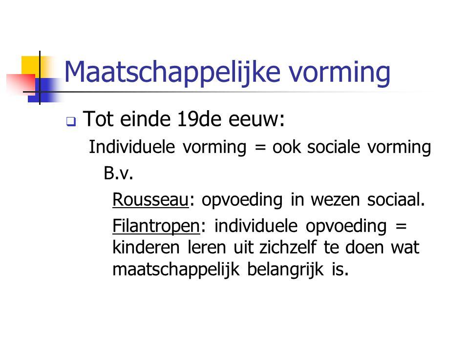 Maatschappelijke vorming