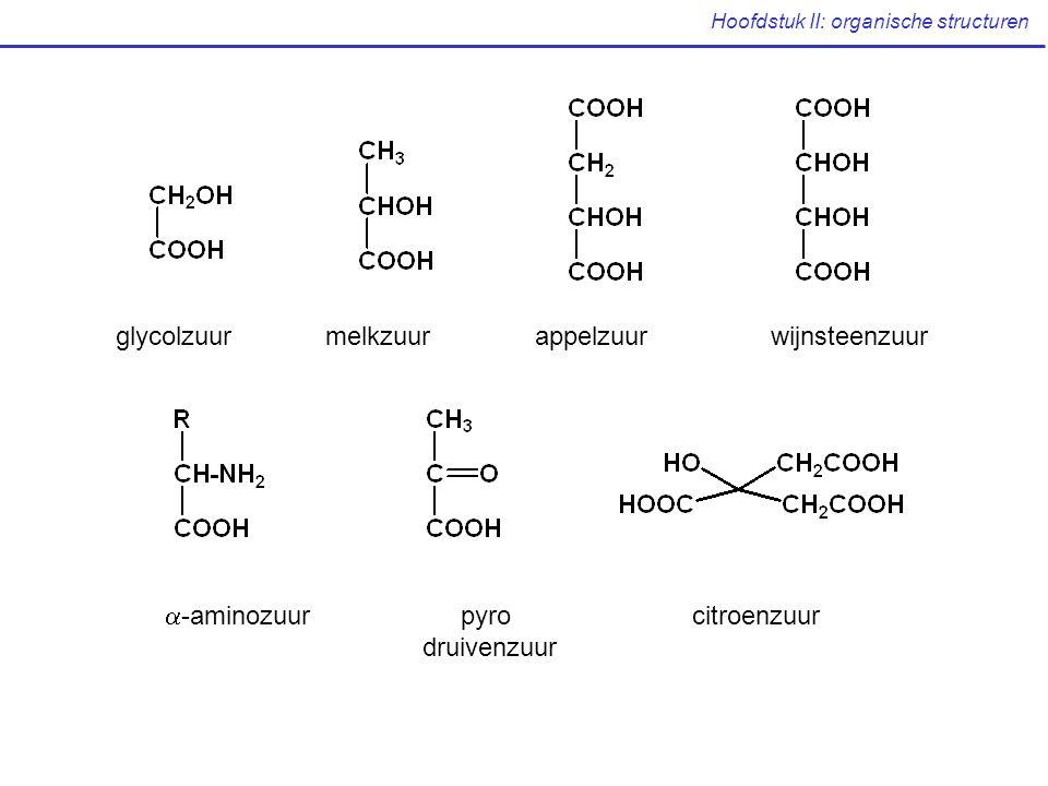 Voorstelling van organische verbindingen