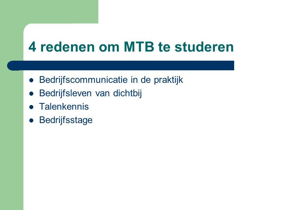 4 redenen om MTB te studeren