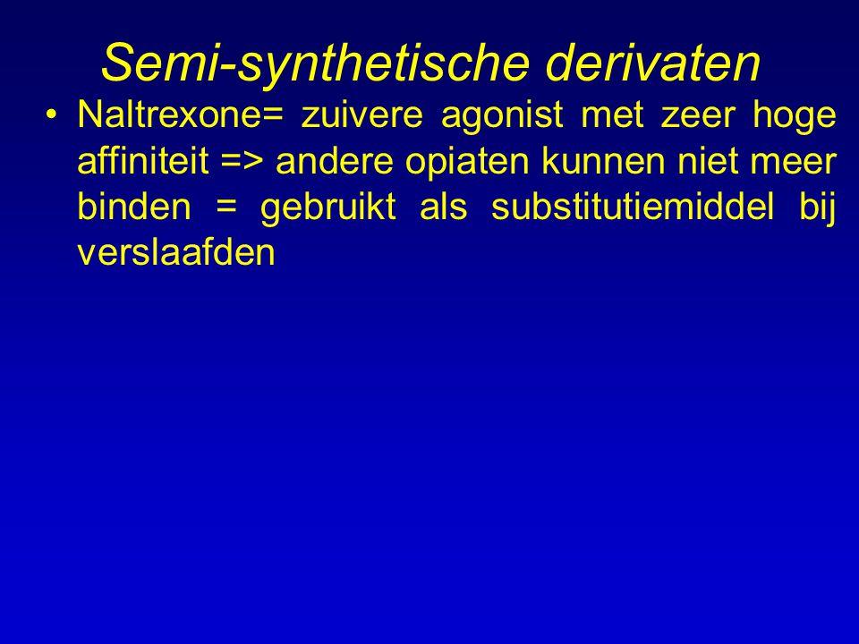 Semi-synthetische derivaten