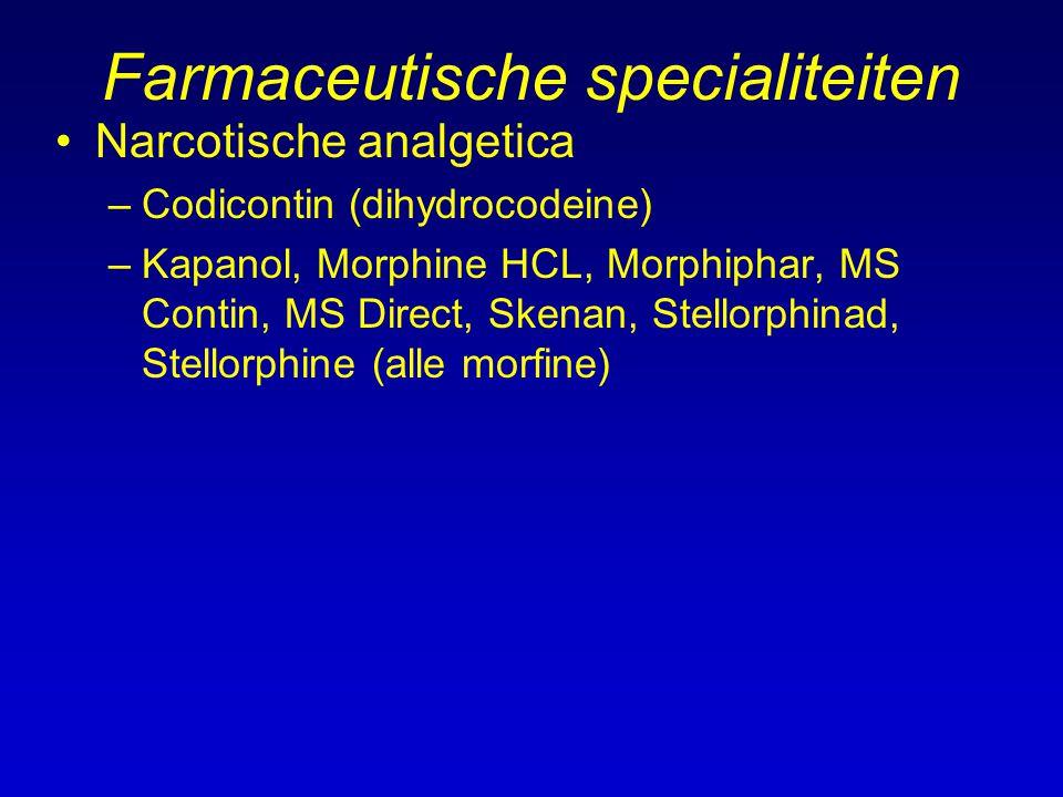 Farmaceutische specialiteiten